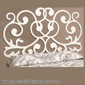 Muebles artesanos y decoraci n en hierro y madera - Cabeceros forja segunda mano ...