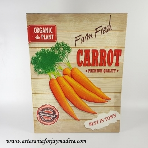 Cuadro Zanahorias