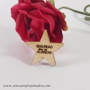 BROCHE SEGURIDAD Estrella