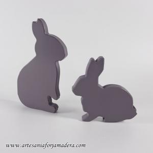 Siluetas Conejos (Pack 2)