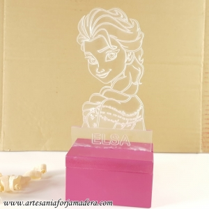 LAMPARA LED QUITAMIEDOS FROZEN ELSA
