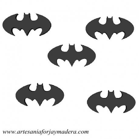 Siluetas Batman de Pared (Pack de 5)