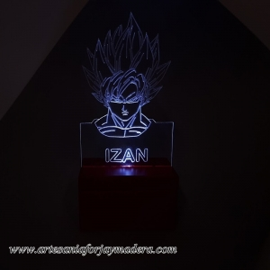 LAMPARA LED QUITAMIEDOS GOKU