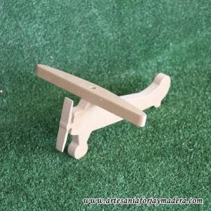 Avioneta de madera
