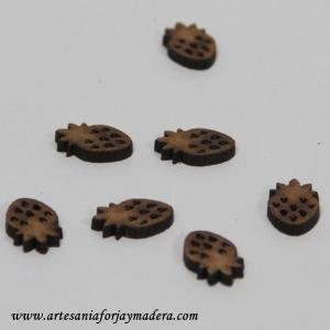 Mini Fresas de madera