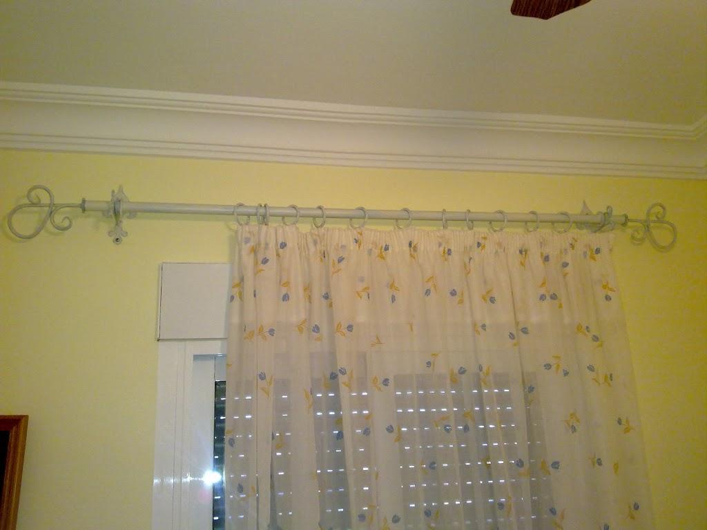 Artesan a forja y madera - Remate de cortinas ...