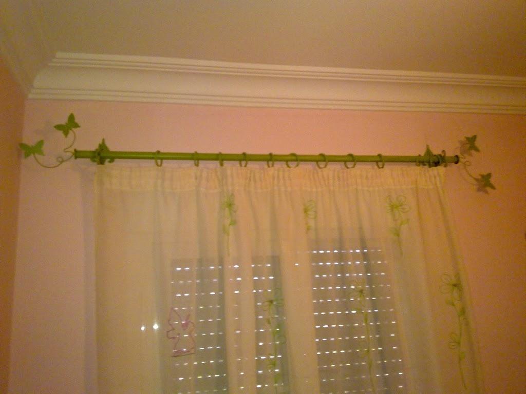 Artesan a forja y madera - Barras de cortinas de forja ...
