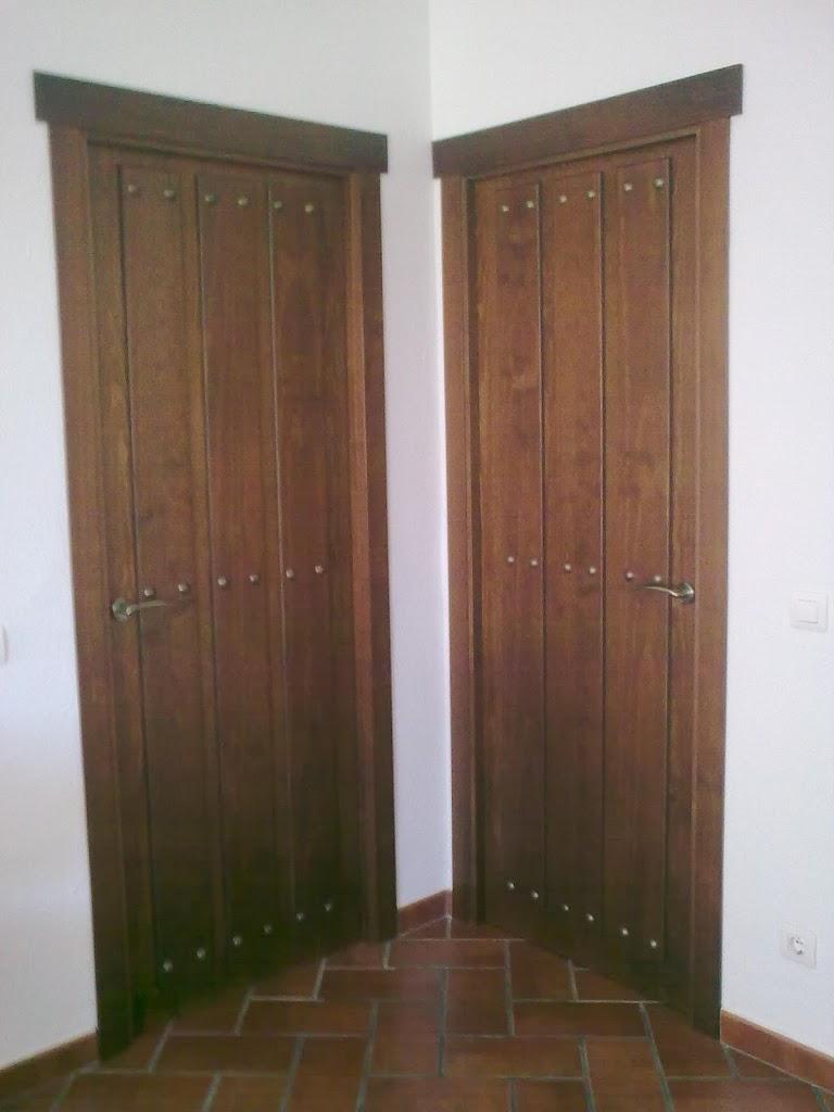 Artesan a forja y madera - Manillas rusticas para puertas ...