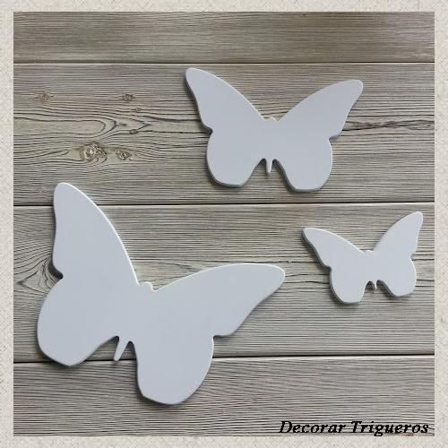 Artesan a forja y madera for Mariposas de decoracion para pared