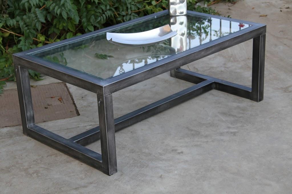Artesan a forja y madera for Mesa hierro y madera