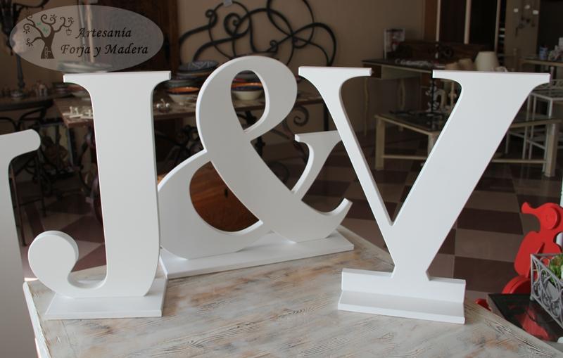 letras decorativas de madera para jorge