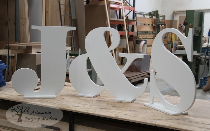 Letras De Decoracion Para Bodas ~ Si tienes una idea para decorar tu boda con detalles en hierro o