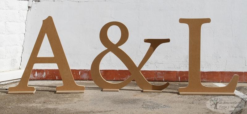 Artesan a forja y madera - Letras de nombres para decorar ...