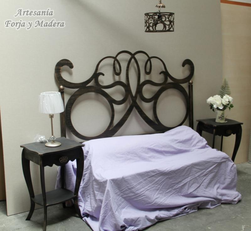 Dormitorio Nepturno Hierro y Madera