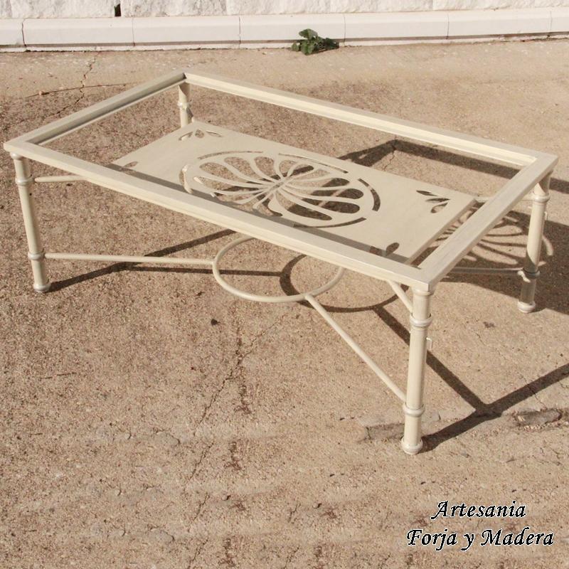 Mesa elevable de Hierro modelo Viena