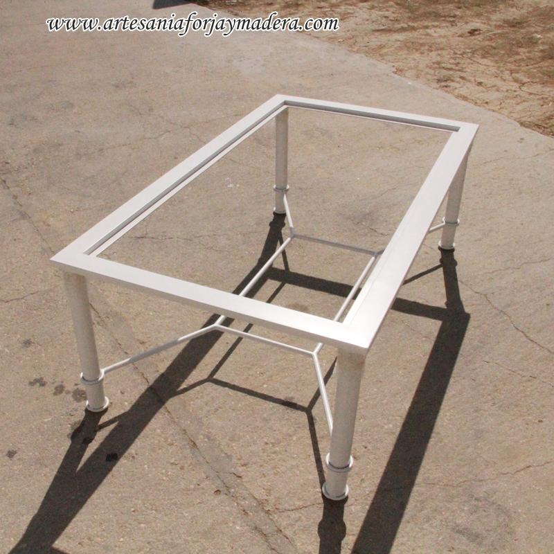 mesa de hierro para radiador