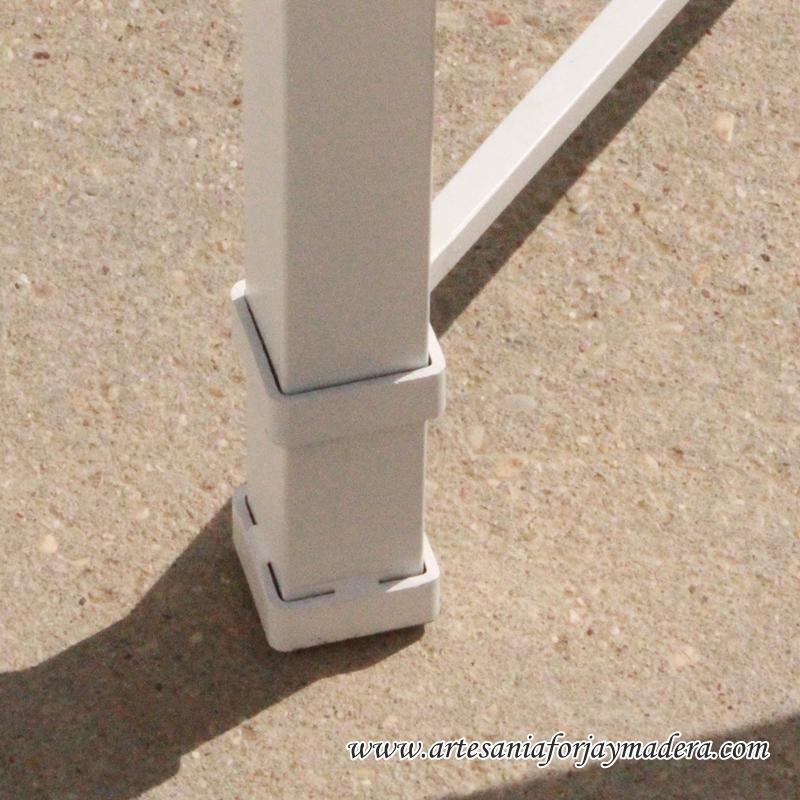 mesa de hierro radiador