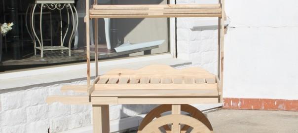carro de chuches madera