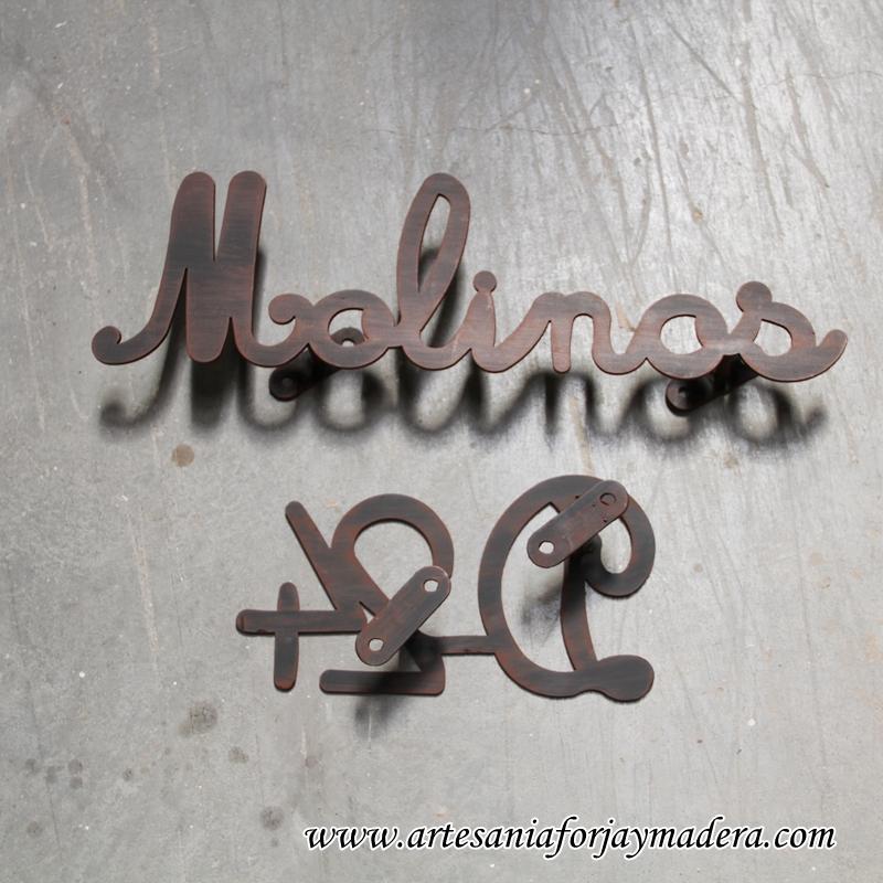 Letras en hierro simple letra e de hierro with letras en - Letras de hierro ...