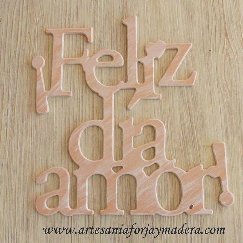 Letras de madera decorativas decorar con letras de madera letras decorativas en madera te - Letras de madera decorativas ...