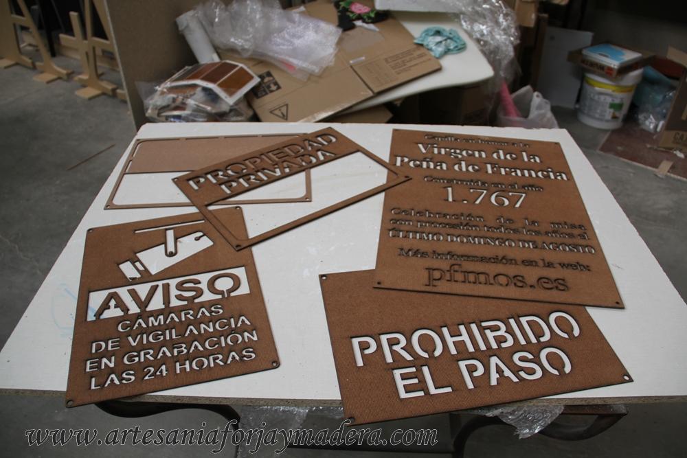 Artesan a forja y madera - Plantillas de letras para pintar en madera ...