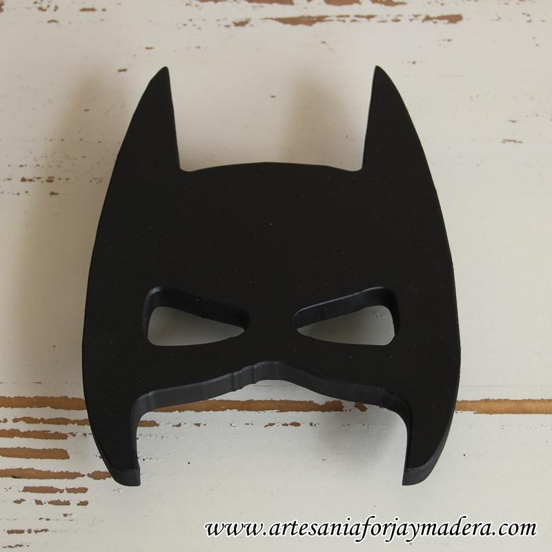 percha mascara de batman