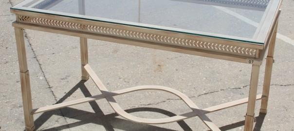 mesa elevable de forja