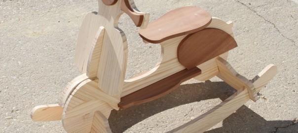 balancin de madera