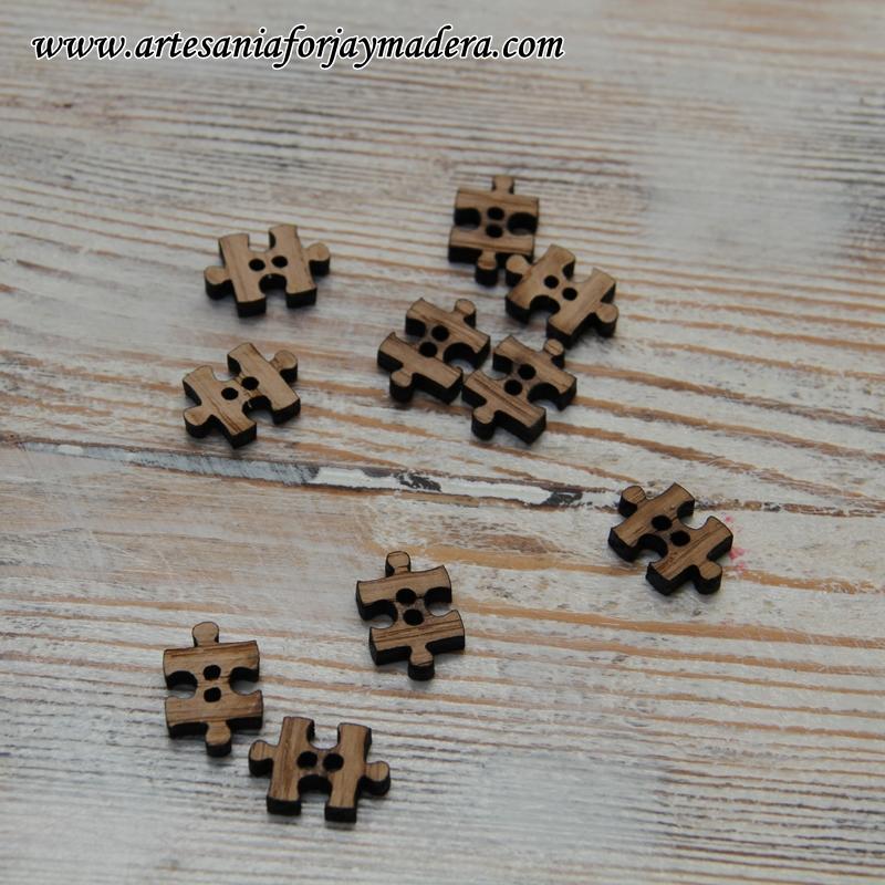 botones de madera