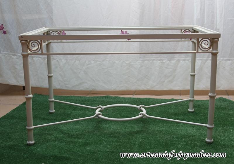 mesa elevable forja