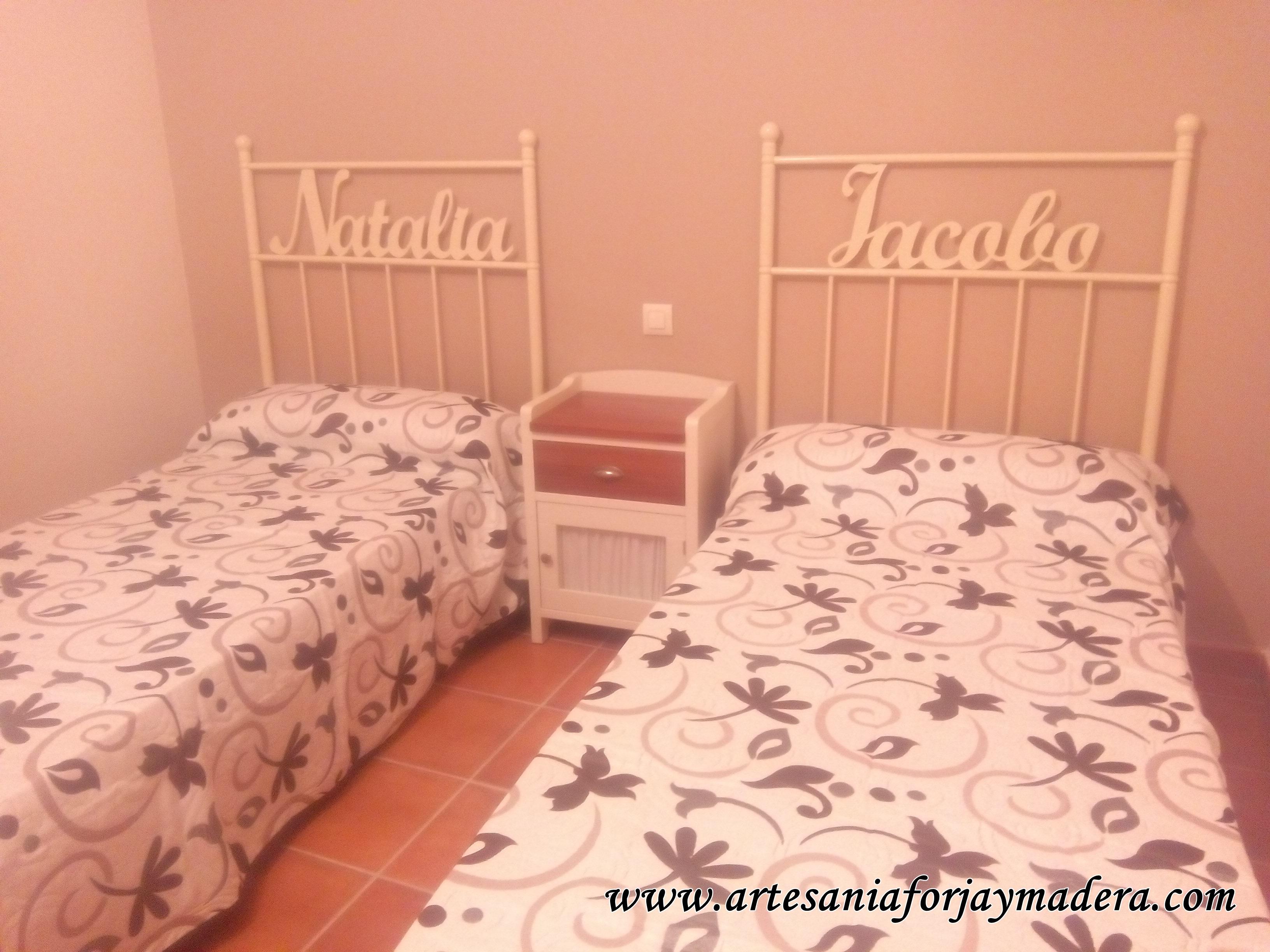 Cabezales infantiles cabeceros infantiles originales - Cabeceros de cama de hierro ...