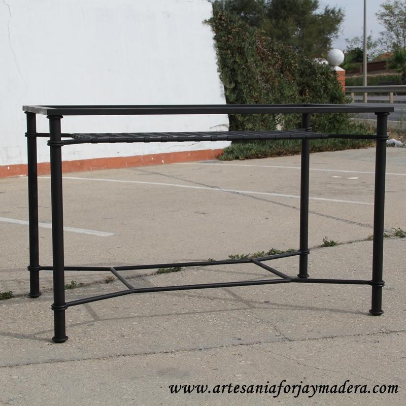 mesa de hierro revistero (2)