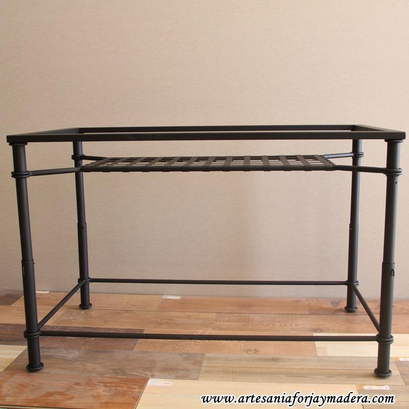 mesa elevable de forja revistero (1)