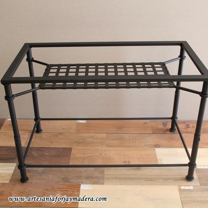 mesa elevable de forja revistero (2)