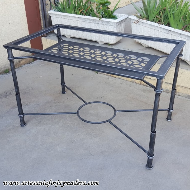 mesa elevable hierro geometria 1
