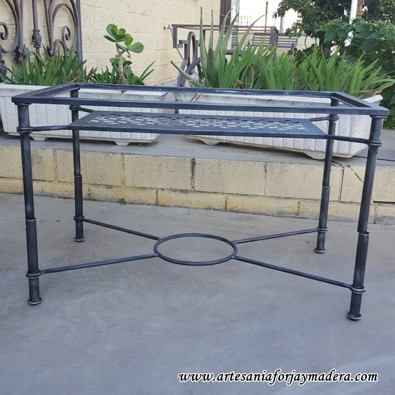 mesa elevable hierro geometria 2