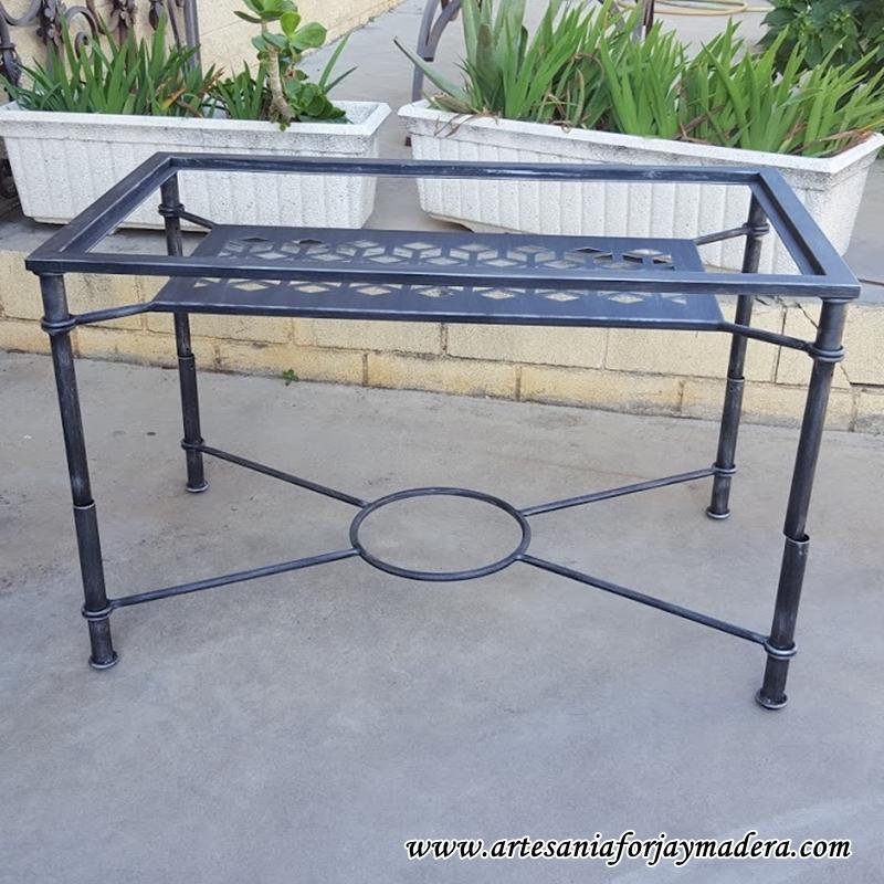 mesa elevable hierro geometria 3