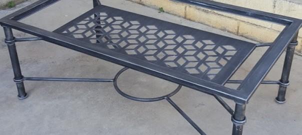 mesa elevable hierro geometria 4