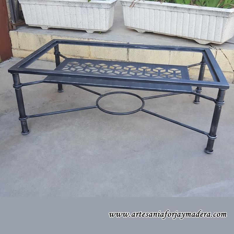 mesa elevable hierro geometria 5