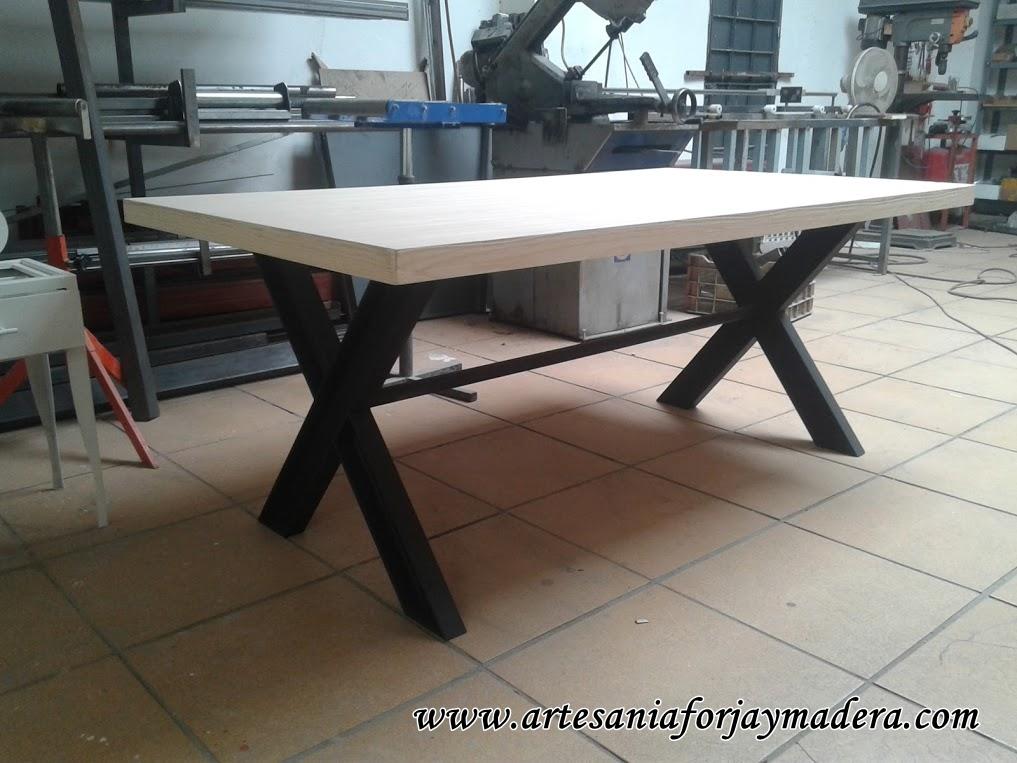 Artesan a forja y madera for Como hacer una propuesta para un comedor industrial