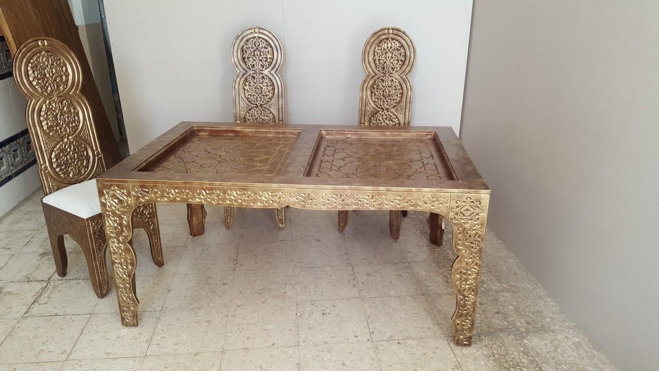 Artesan a forja y madera - Muebles estilo marroqui ...
