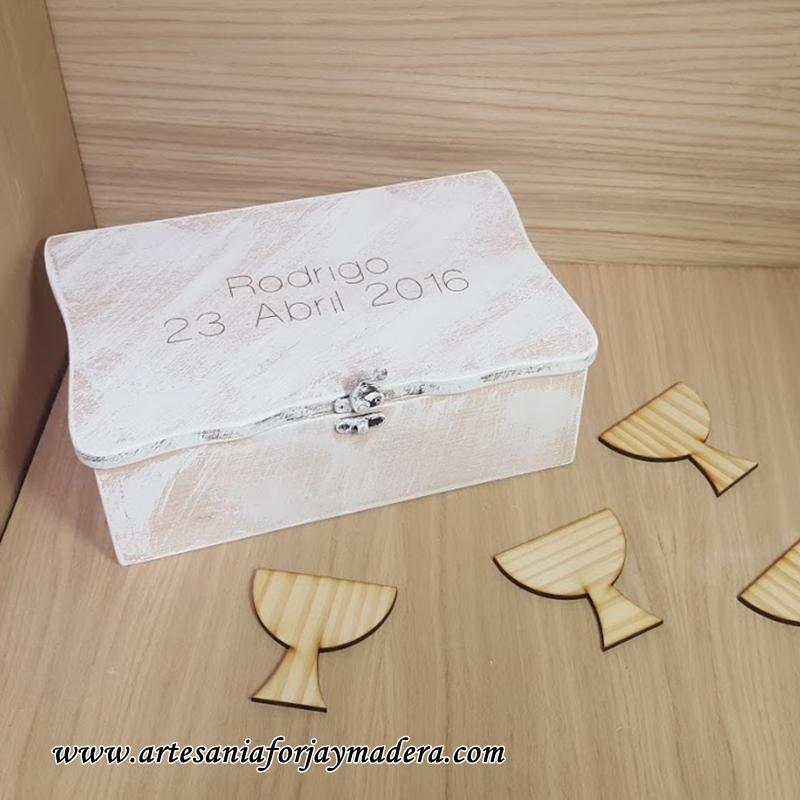 caja firmas comunion