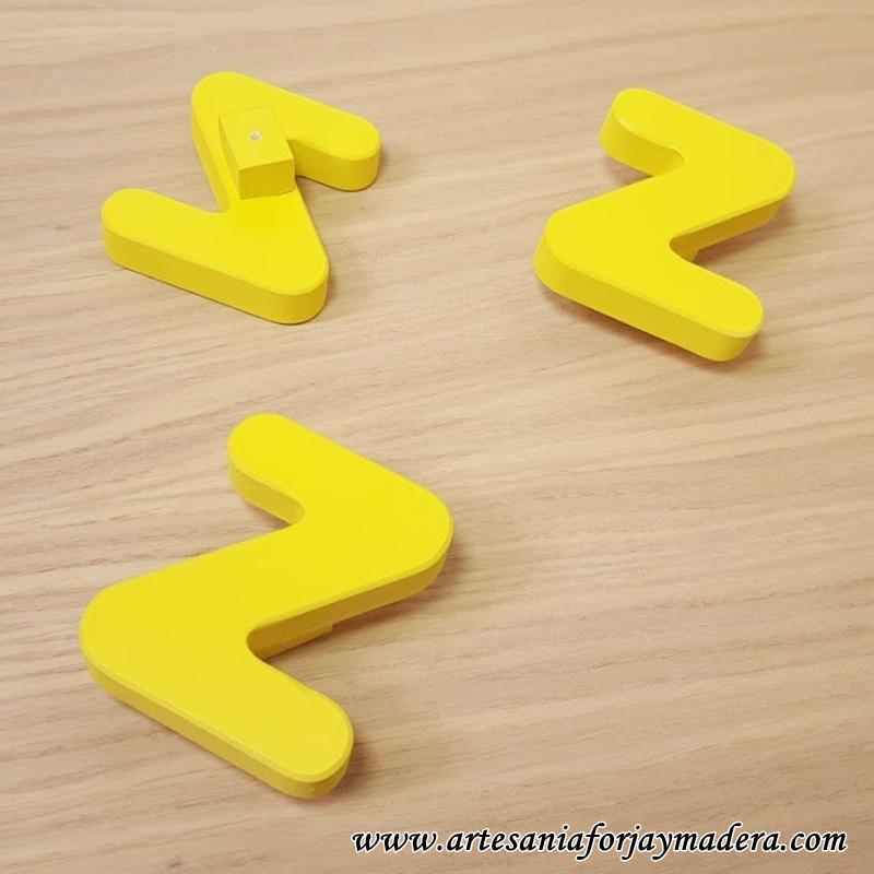 tiradores letras