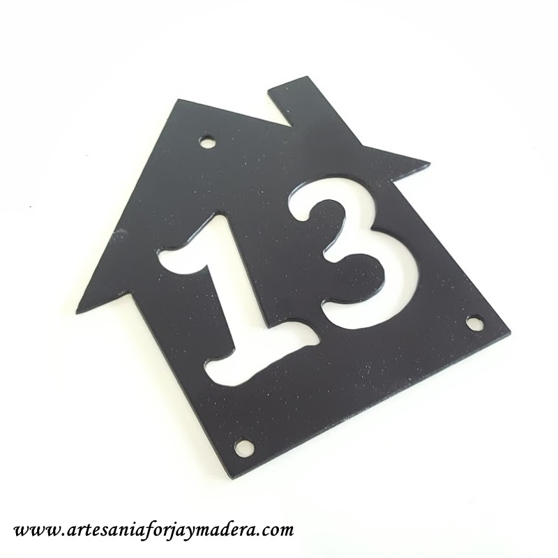 numero para puerta 3