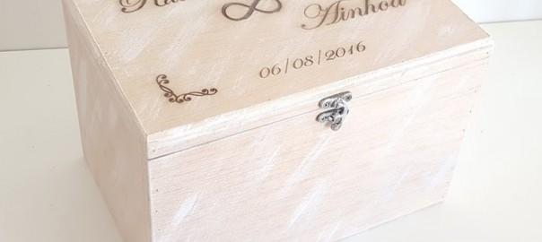 caja recuerdo boda