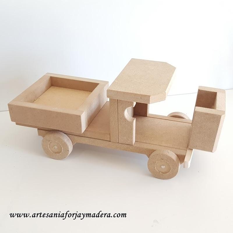 camion clasico sin pintar 2