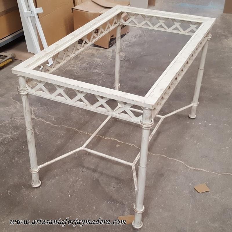 mesa de hierro dos alturas 1