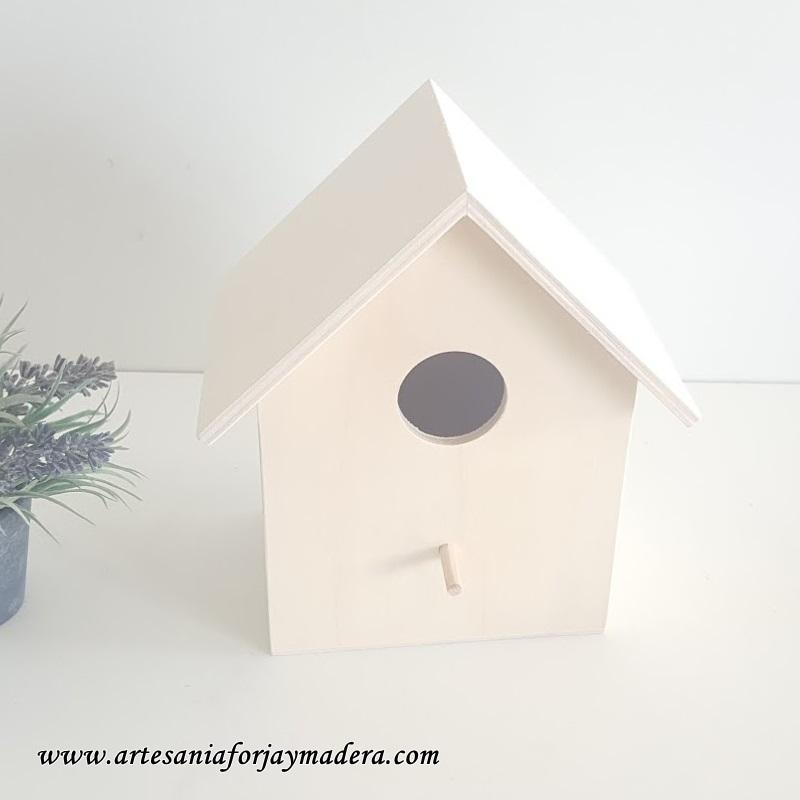 casita de pajaro de madera 2