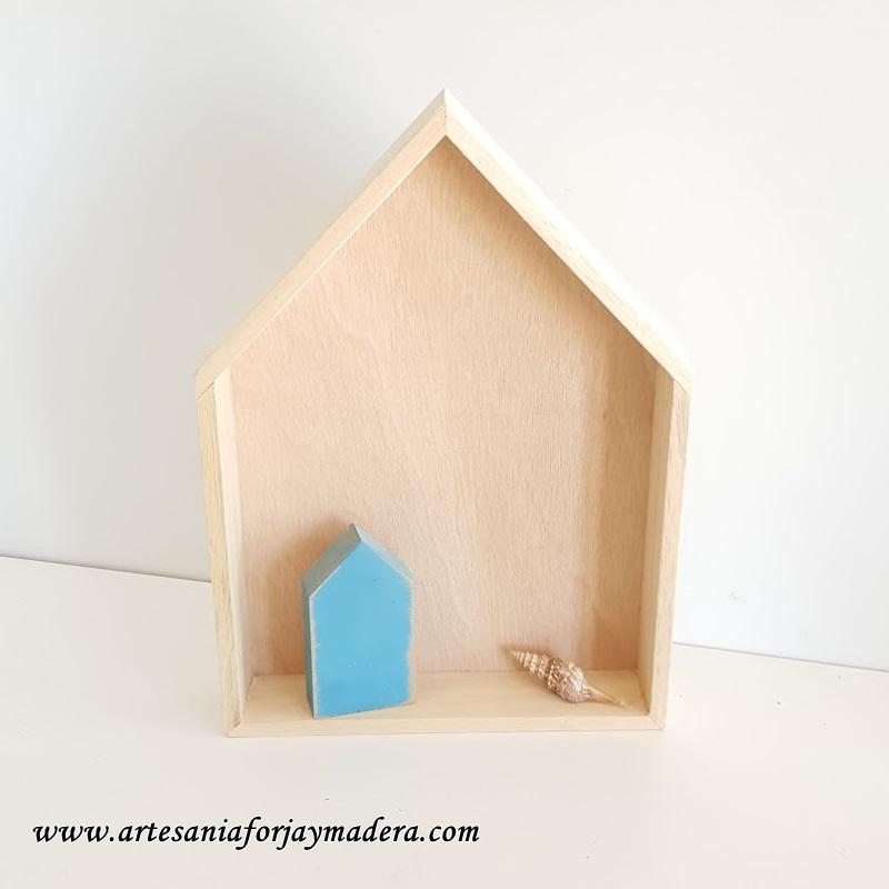 casitas de madera estante 4
