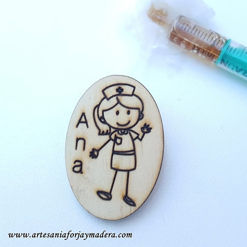 broche-enfermera